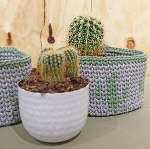 Haakpakket Bobbiny Mandjes Cactus Wolcafé Is De Winkel Voor Haken