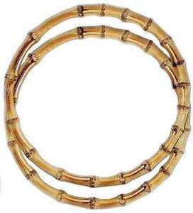 Bamboe tashengsel rond 22cm