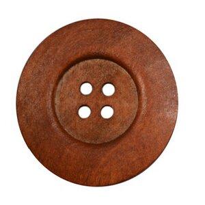 Leuke grote houten knoop 6cm