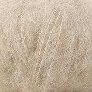 Alpaca Silk brushed licht beige