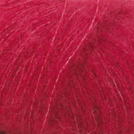 Alpaca Silk brushed rood