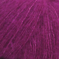 Alpaca Brushed silk paars