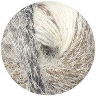 Fano hair zwart/bruin/creme