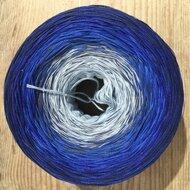 Limited by katoen lichtblauw/donkerblauw