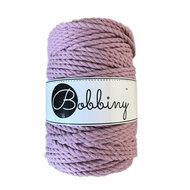 Bobbiny Triple Twist 5mm dusty pink